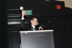 Accepting the 2009 TMA Most Valuable Member Award